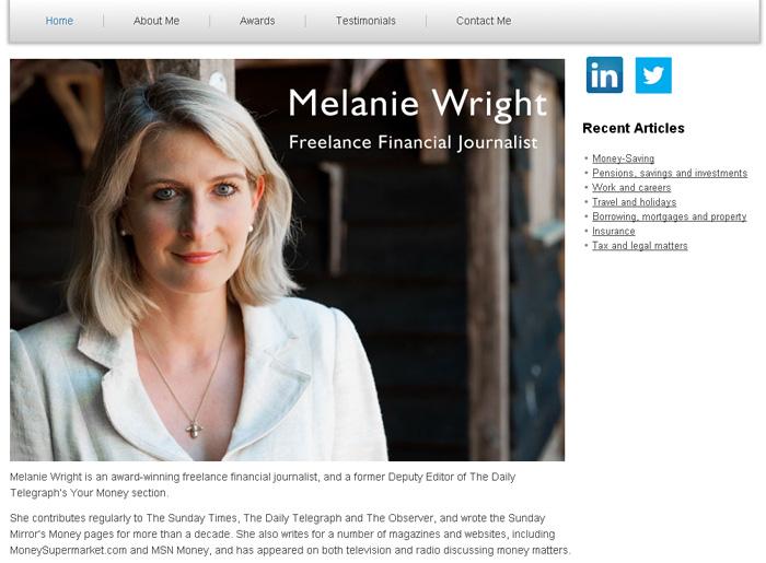 Melanie Wright – Freelance Journalist