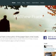 Matthew Frank Author