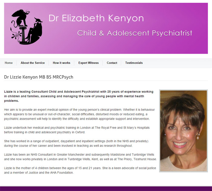 Dr Lizzie Kenyon