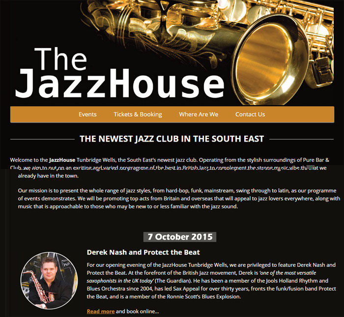 The Jazz House Tunbridge Wells