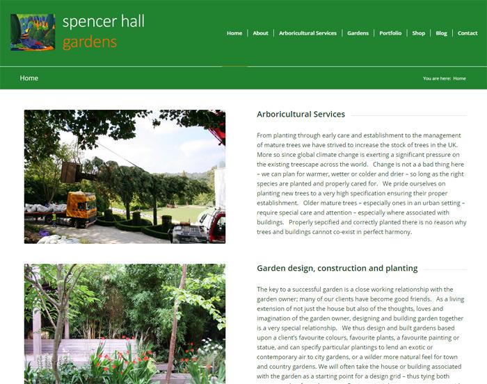 Spencer Hall Gardens