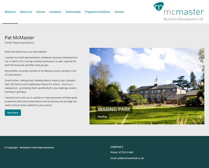McMaster Hotel Representation